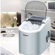 Machine de cube de machine à glaçons de balle de la production 15 kg/24 h de glace pour la maison/bloc de glace commercial faisant la machine icee machines 105W