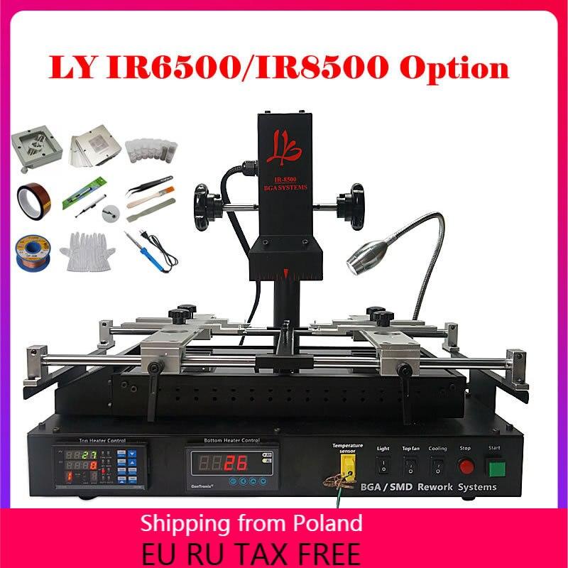 LY BGA IR8500 Reballing Kit Infrared  IR6500 V.2 BGA Repair Rework Soldering Station Motherboard Mobile Phone PS4 Xbox Repairing