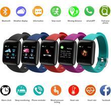 Reloj inteligente deportivo para hombre y mujer, pulsera resistente al agua IP67, con control del ritmo cardíaco, para Xiaomi, Android, Iphone e IOS