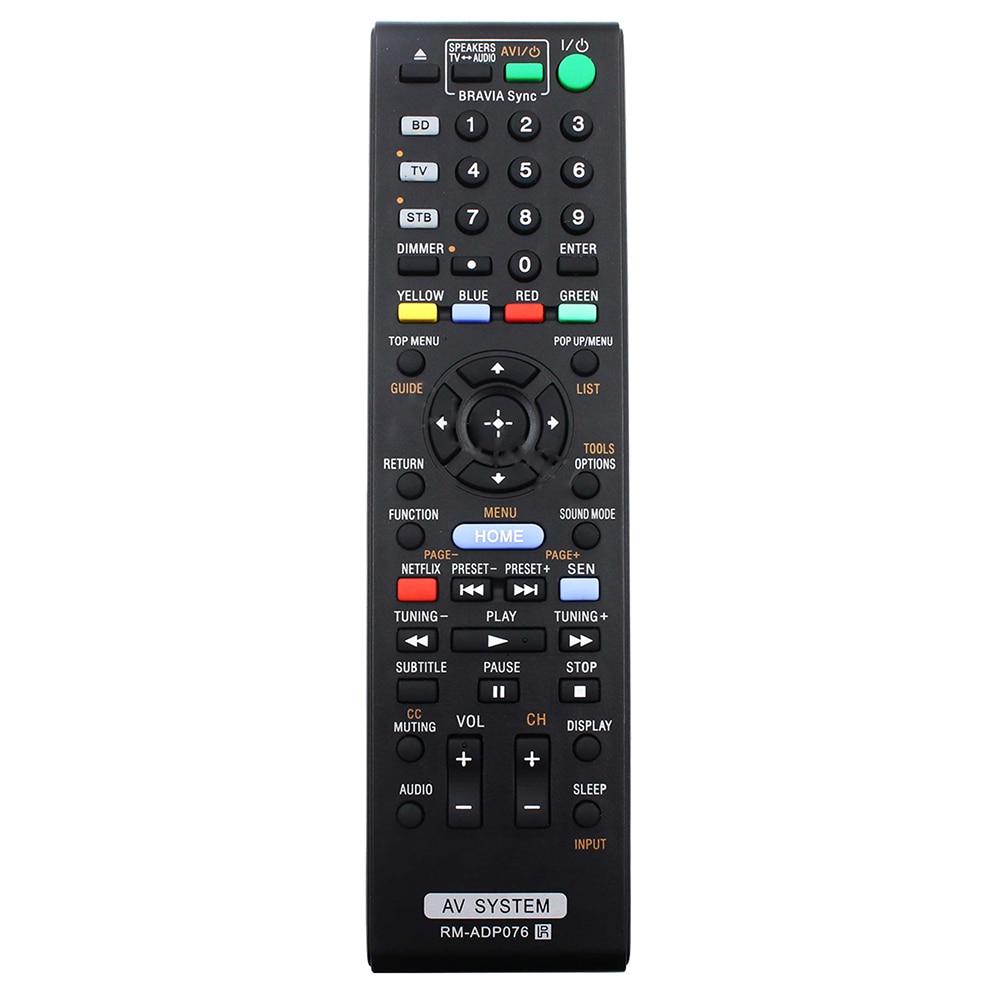 Mando a distancia RM-ADP076 para Sony RM-ADP072, BDVN890W, Blu-ray, DVD