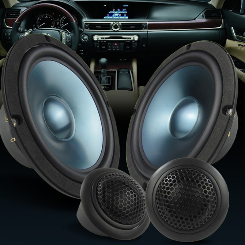 1 Set Car Subwoofer Vehicle Door Auto Tweeter Music Stereo Treble Sound Amplifier Horn Frequency Aud
