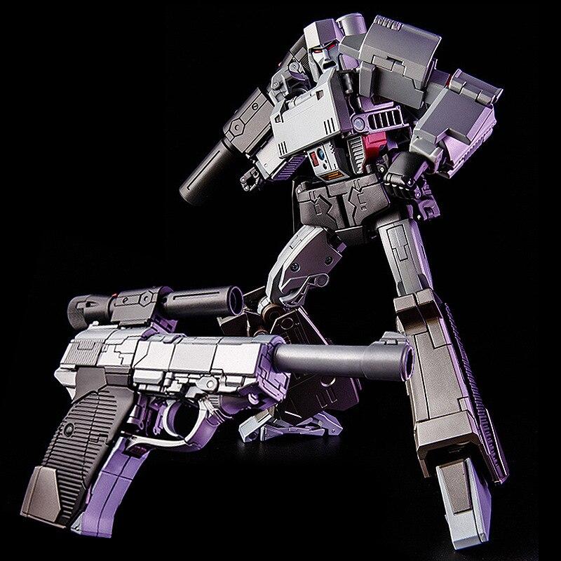 G1 THF-03 transformable, figura de gran tamaño de Galvatron, Emperador de la destrucción con luz y sonido, MP36, MP-36 de aleación, obra maestra
