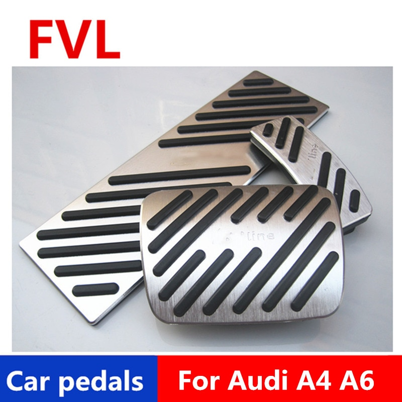 Car pedals For Audi Q7 A4 A6 A7 A8 S4 RS4 A5 S5 RS5 8T Q5 Accelerator Pedal Brake Pedal Footrest Pedal