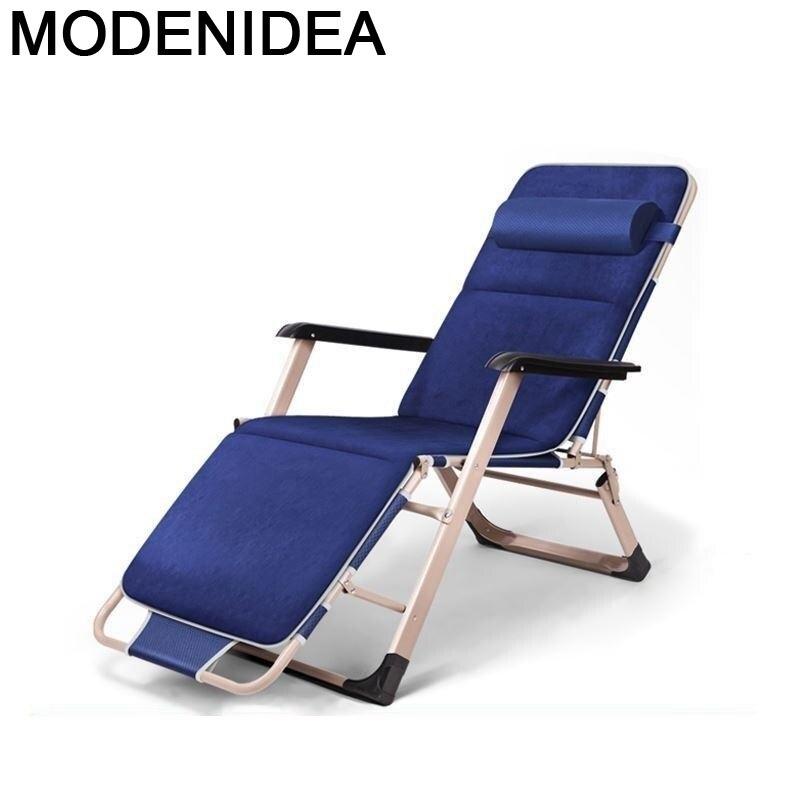 Tuinmeubelen-silla reclinable Para salón, Tumbona Para balcón, muebles De jardín, cama plegable