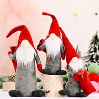 2pcsset christmas faceless swedish tomte gnome ornaments handmade scandinavian home holiday party decoration