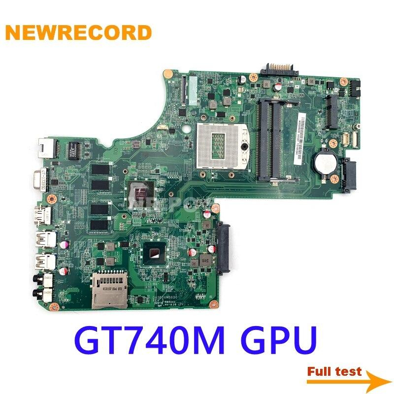 NEWRECORD DA0BD6MB8D0 A000245430 لتوشيبا C70 C75 L70 S70 S75T L75-A C75-A S75T اللوحة المحمول GT740 GPU