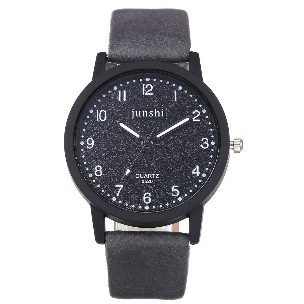 Simple Style Women Black Leather High-end Blue Glass Watches Top Brand Waterproof Womens Watch Relogio Feminino часы женские