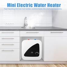 Mini Tank Electric Water Heater  Domestic Water Heater Instant Electric Water Heater With Digital Di