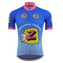 1990 classique Z cyclisme maillot extérieur rétro vtt maillot aller pro triathlon vélo vêtements ropa ciclismo