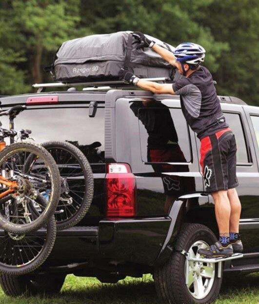 Off-road car RV SUV tire step ladder roof equipment maximum load 150KG enlarge