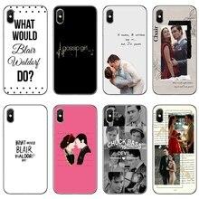 Funda de teléfono con accesorios Gossip Girl, Tony Chuck Bass para iPhone 11 Pro XS Max XR X 8 7 6 6S Plus 5 5S SE 4S 4 iPod Touch 5 6 6
