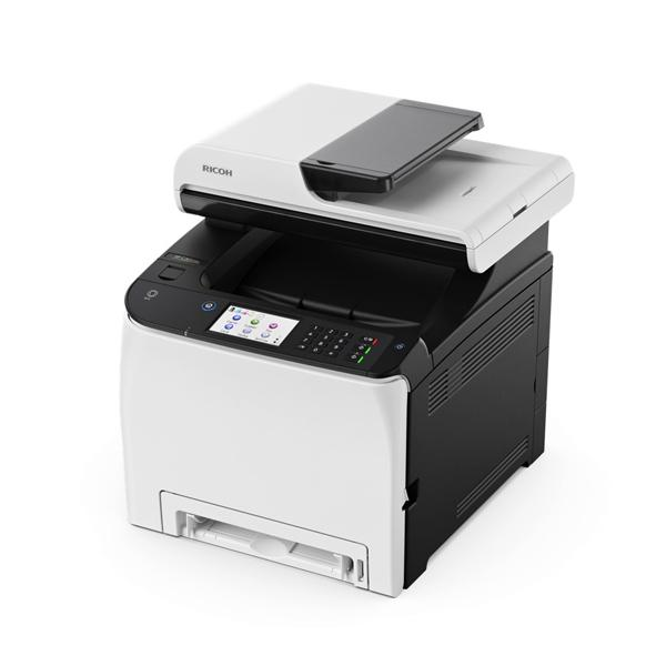 Impresora láser Ricoh SP260SFNW 20 ipm 2400 ppp WIFI Fax blanco negro