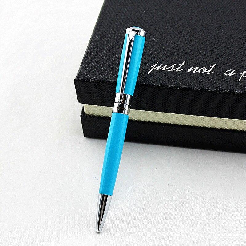 Высококачественная металлическая шариковая ручка, классический деловой подарок, роскошная ручка для письма, офисные принадлежности, школь...