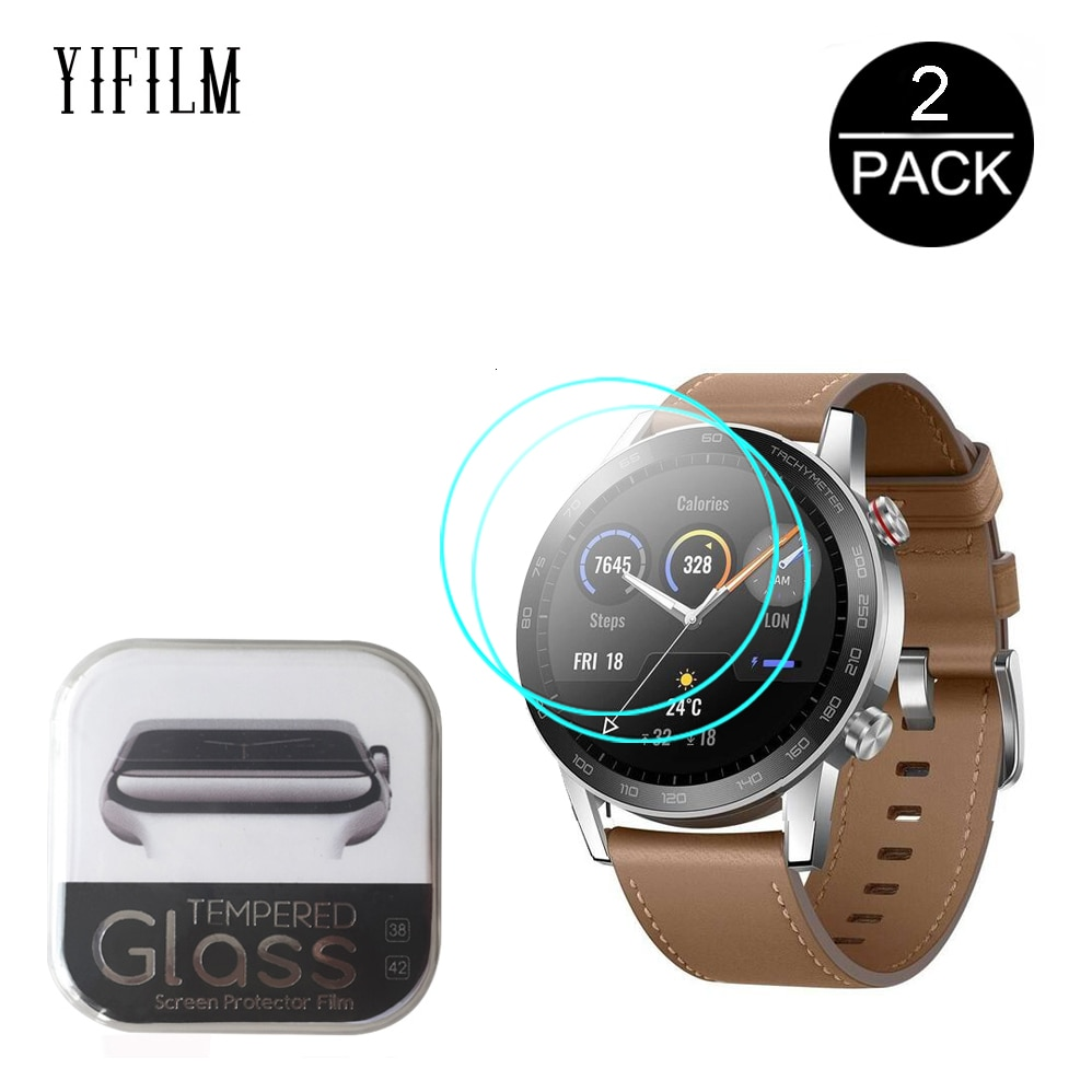 2.5D Tempered Glass Screen Protector For Huawei Honor Magic Watch 2 GT 2 GT2 42mm 46mm GS Pro Smartw