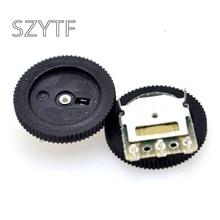 50pcs / bag gear potentiometer 50K 16 x 2MM single joint potentiometer dial 5pin
