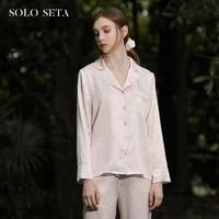 %e2%98%85soloseta100 of leopard of mulberry silk powder dot printing light luxury silk pajamas two piece leisurewear female