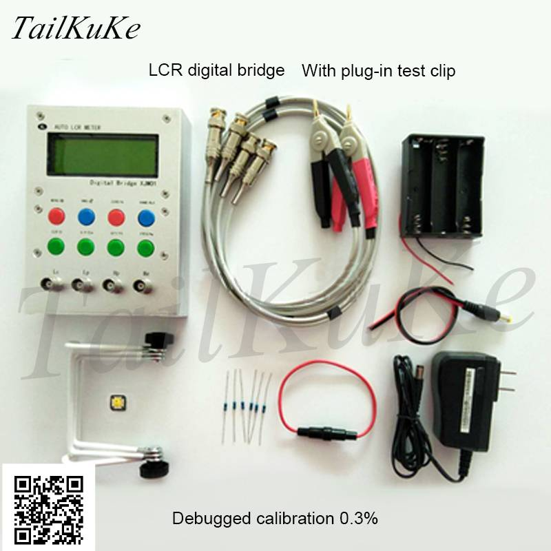 XJW01 LCR digital bridge tester  ESR Kit
