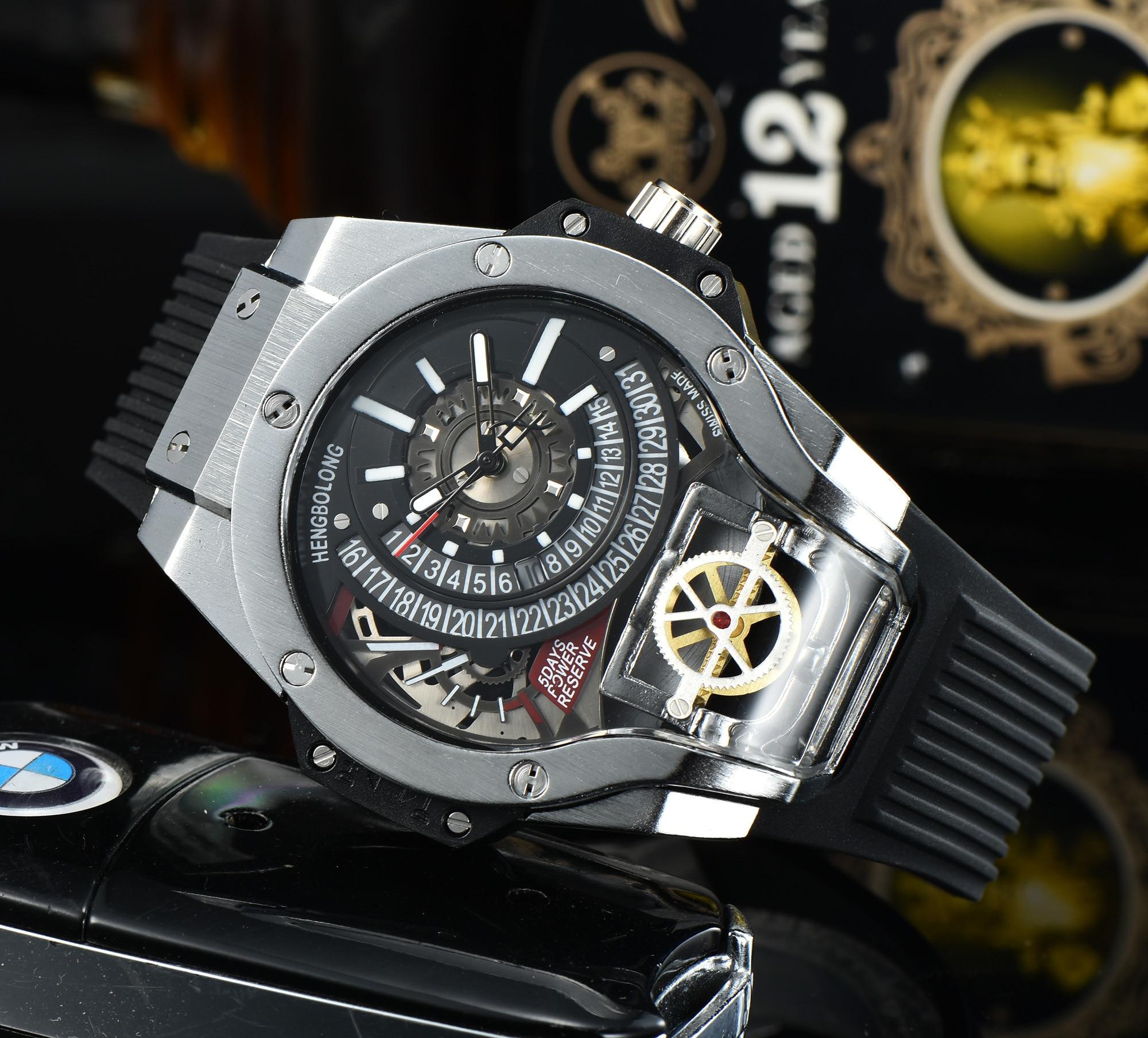luxury watch Luxury Mens Watch Sport Quartz Wristwatches Designer Relojes Para Hombre watches for me