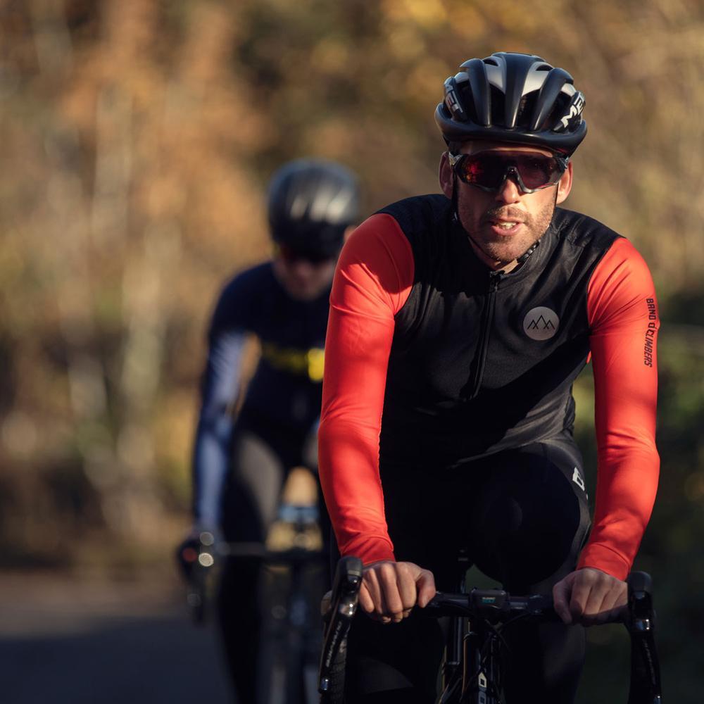 La banda De los escaladores De los hombres Ciclismo Jersey Manga Larga...