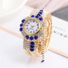 Fashion Women Watch with Diamond Watch Ladies Top Luxury Brand Ladies Casual Women's Bracelet Crysta