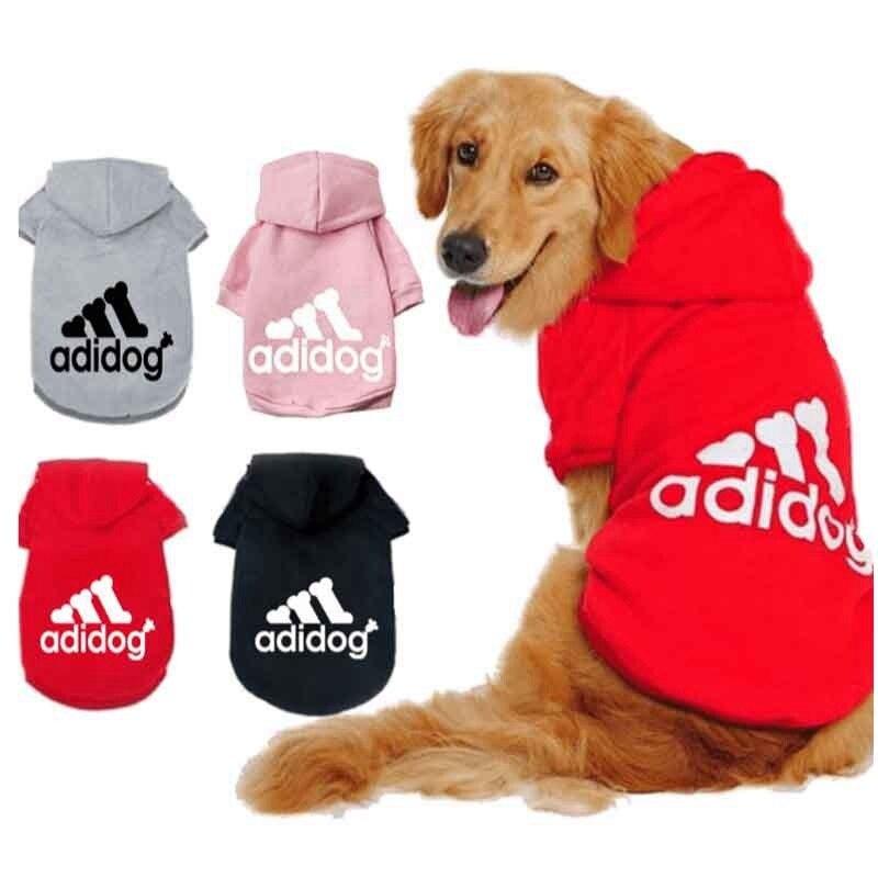 Chaqueta informal con capucha Para perros grandes, ropa Para mascotas, Abrigo Para...