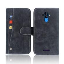 Hot! BQ 6042L Magic E Case Luxury Wallet Flip Leather Phone Bag cover Case For BQ 6042L Magic E with