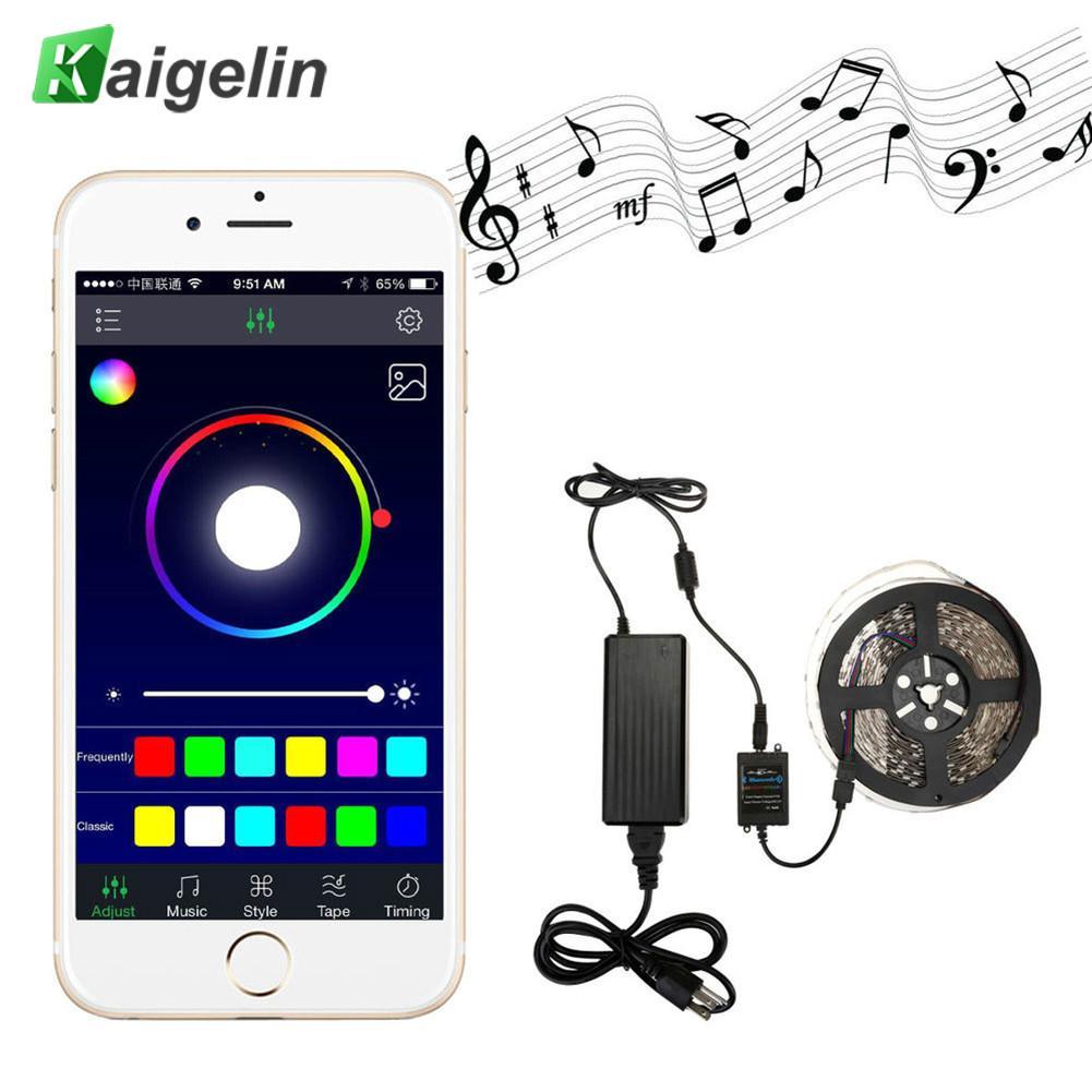 В продаже мини wifi RGB/RGBW контроллер полосы музыка контроллер Amazon Alexa Google Home телефон wifi контроллер для полосы света