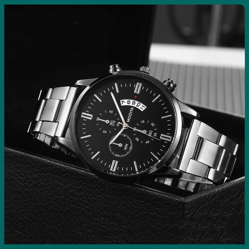 New Fashion Men's Quartz Watch Top Luxury Brand Watch Calendar Display Sports Chronograph Luminous Waterproof Military Watch