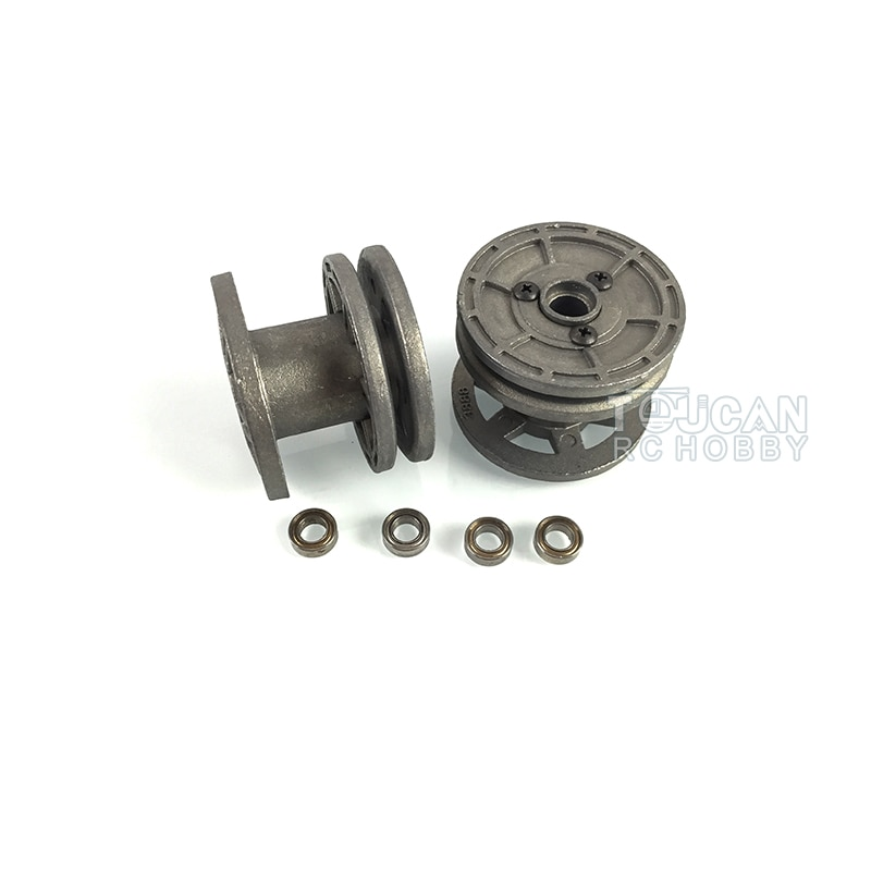 Heng Long 1/16 King Tiger RC Tank 3888 3888A Metal Idler Wheels TH00404-SMT4 enlarge