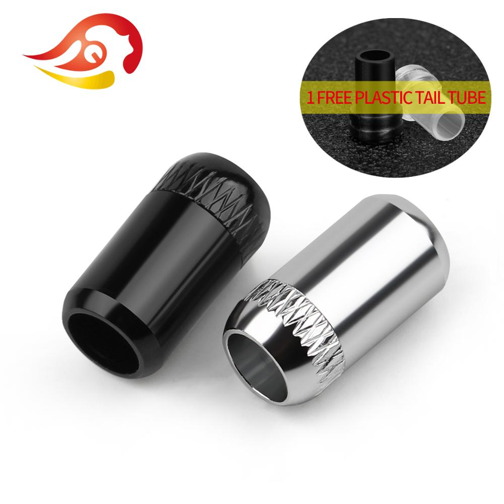 QYFANG aleación de aluminio auriculares Y Splitter auriculares con clavija de Audio Cable de actualización conector 5,0mm agujero de alambre empalme adaptador de enchufe de Metal