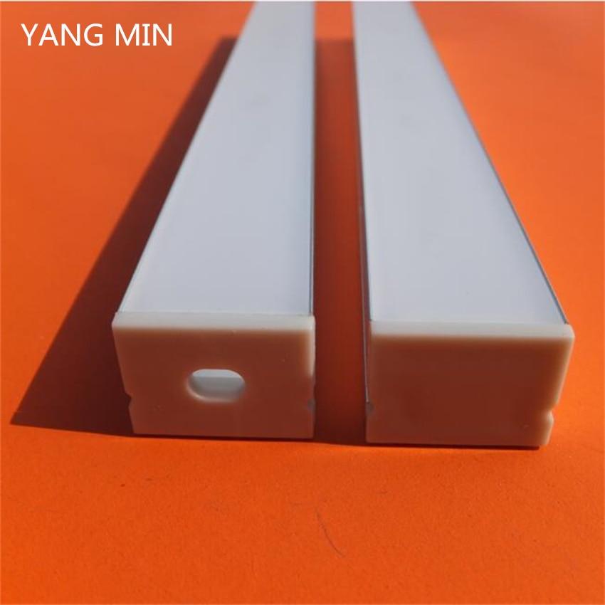 YANGMIN Free Shipping 2M/PCS High Quality Square Aluminum LED Profile/LED Strip Aluminum Channel