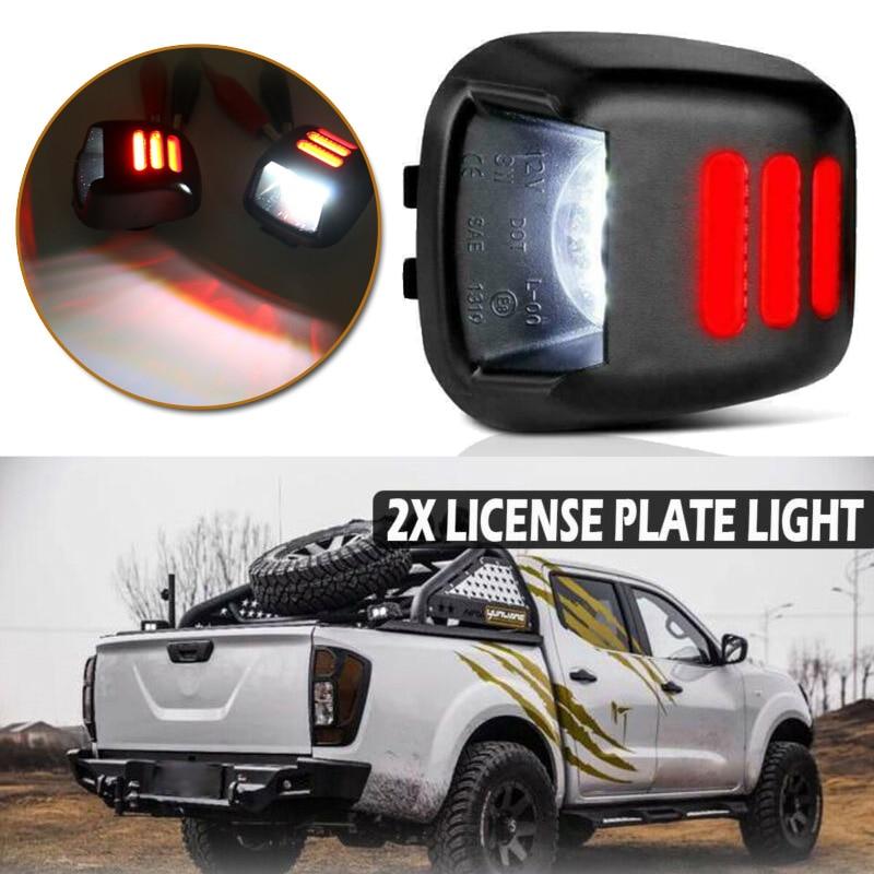 12V Lizenz Platte Licht 26510JD00A Für Navara D40 Suzuki Teile Zubehör Auto