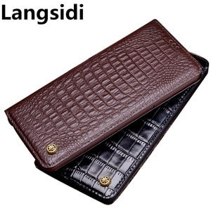 Business genuine leather standing phone case for OnePlus 9 Pro/OnePlus 9R/OnePlus 9 phone bag card slot holder phone cover stand