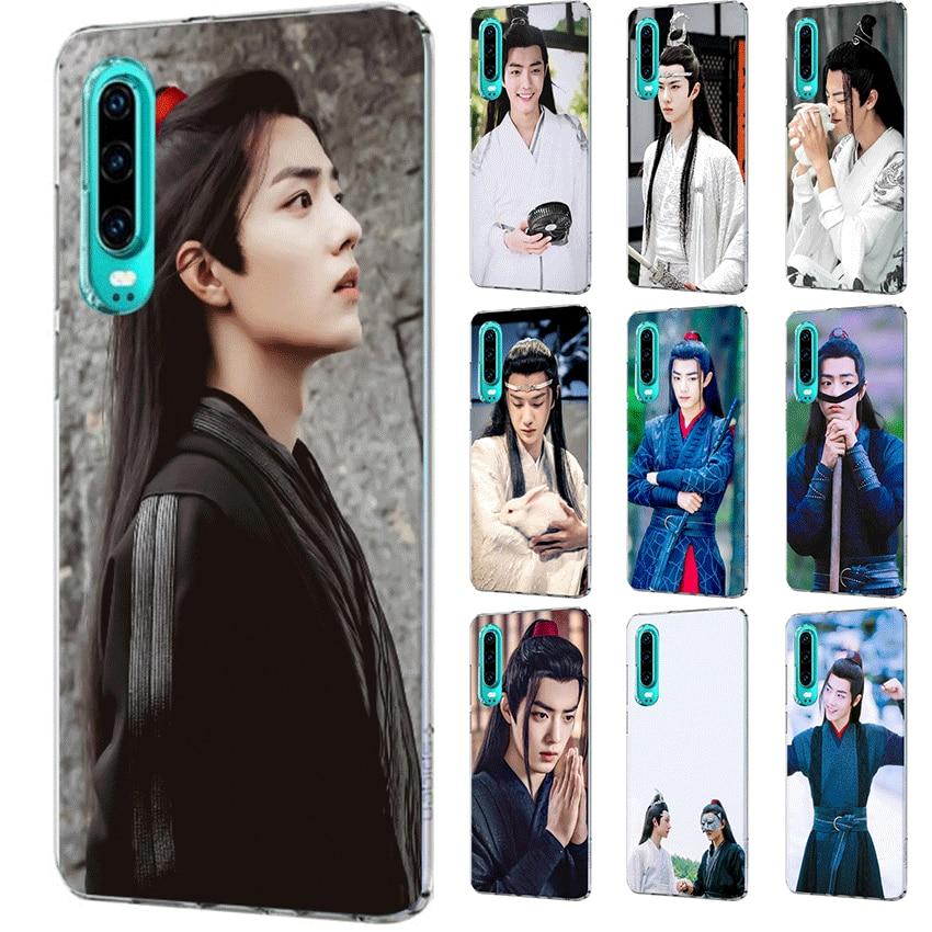 Funda del teléfono para Huawei Honor 20 8 8X 8C 8 9 9X Pro Lite Nota 10 jugar 6A 7A 7C 7X el salvaje Xiao Zhan negro