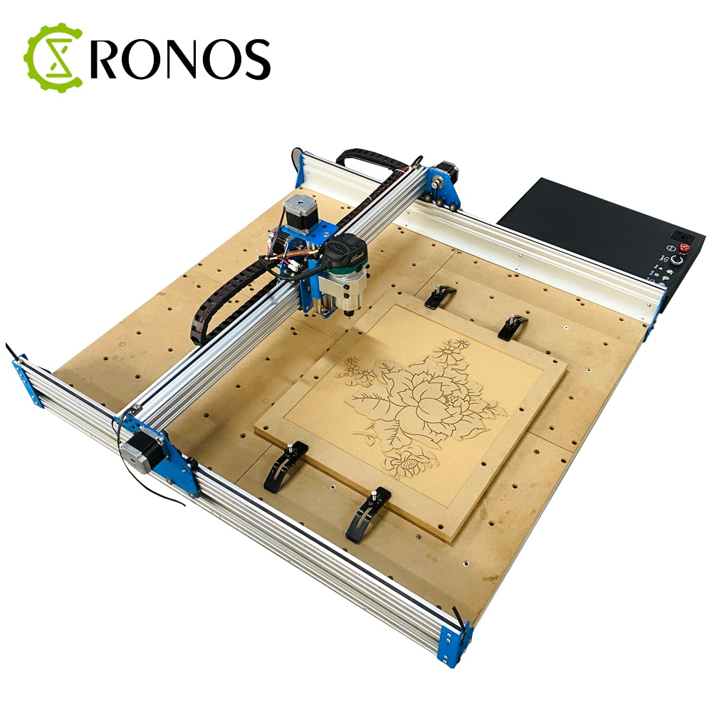 CNC Router Machine 8080 Full Kit,Metal Engraving Cutting Machine ,Aluminum Copper Wood PVC PCB Carving Machine,CNC Milling 3Axis enlarge