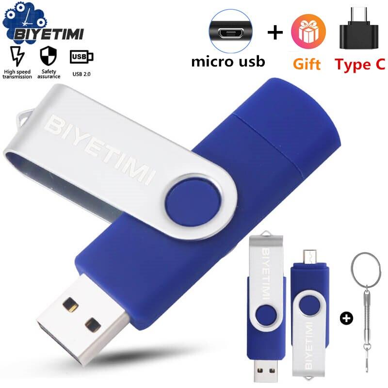 Многофункциональная USB флешка Biyetimi otg 2,0 Флешка 64 Гб cle usb флешка Флешка 32 ГБ 16 ГБ 8 ГБ 4g Флешка для телефона|flash drive pen drive|pen drive32gb otg | АлиЭкспресс