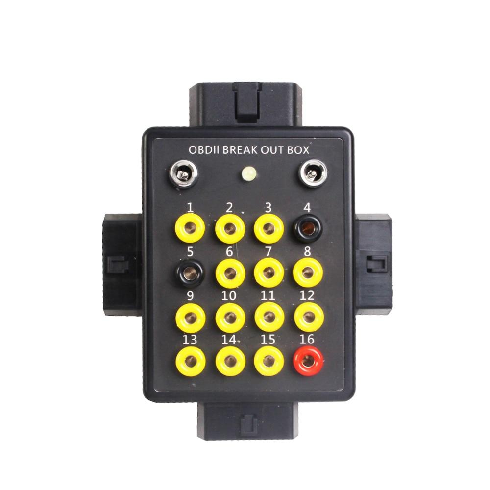 Caja de Conversión de señal OBDII OBDEMOTO 6010 Simulador de avería de coche y motocicleta escáner de automoción