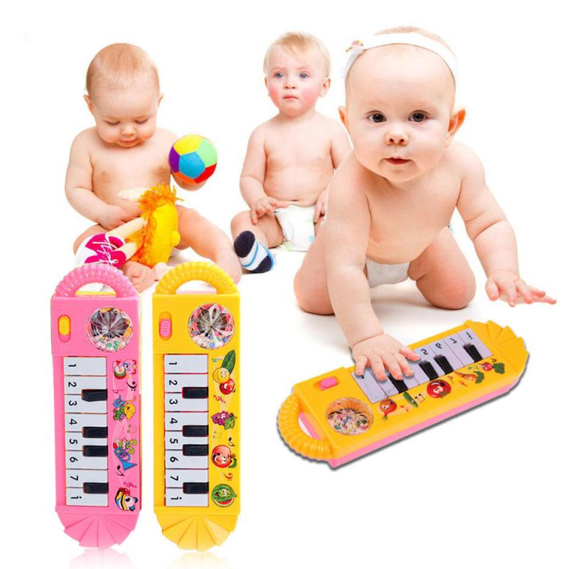 Infant Playing Educational Piano Baby Toys Children Keyboard Boys Girls Fingers Kids Music Plastic C