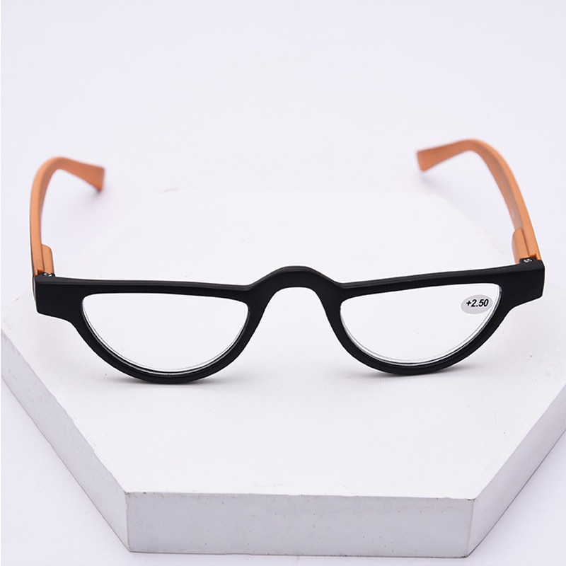 Iboode Cat Eye Reading Glasses Women Men Lightweight Clear Lens Presbyopic Eyeglasses Spectacles Unisex Eyewear +1.0 To +4.0 New  - buy with discount