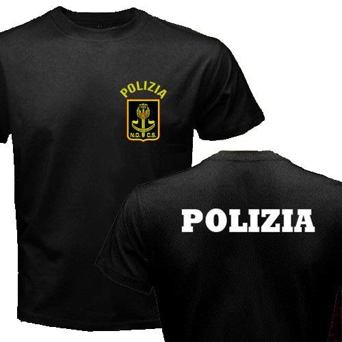 Nuevo Nocs Italia policía unidad táctica Swat contra el terror Fuerza Especial moda Retro verano hombres diseño impreso camiseta