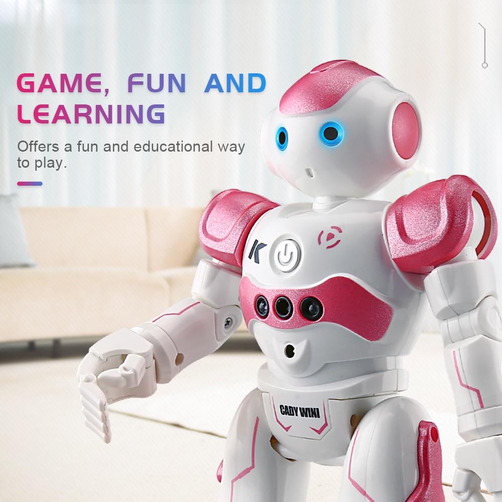 JJRC JJR/C R2 Control de gestos RC Robot de baile juguete inteligente figura de acción programación regalo de Navidad para chico chica