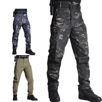 tactical pant cargo pants men military army airsoft clothes hunter field work combat trouser breathable multi pockets camouflage