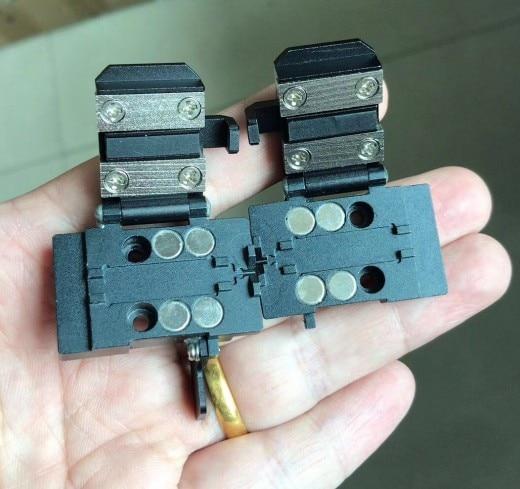 FSM-50S/50R FSM 50s FSM-17S/17R fusion splicer Shealth Clamp 250um Fiber Holder 1 Pair 50s