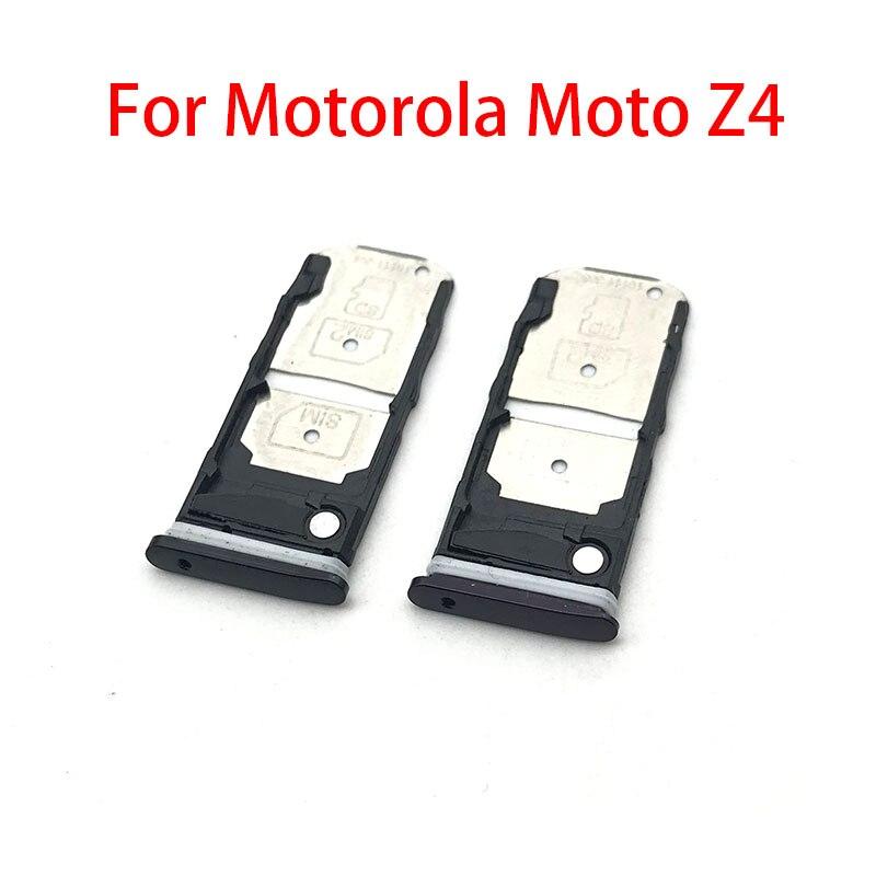 Czytnik kart SIM uchwyt karty SIM złącze slotu Motorola Moto Z4 gniazdo karty SIM Adapter części zamienne