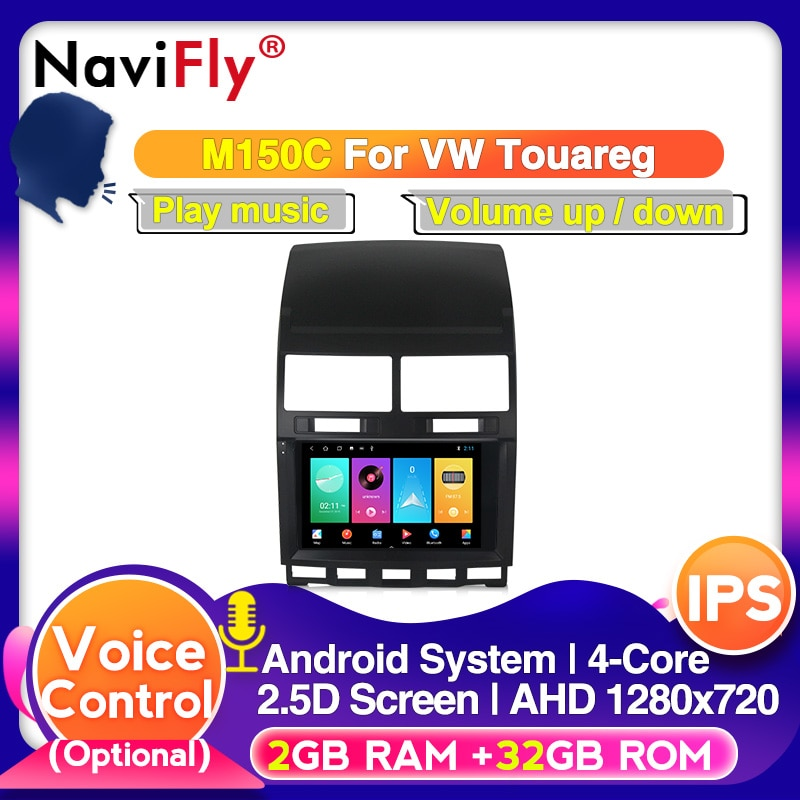 Android 10 DSP IPS 4G RAM 64G ROM For VW Touareg Multivan T5 (2002-2010)  Car radio multimedia player wifi cassette