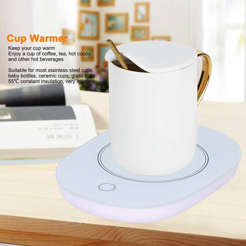Подогреватель для кофе, подогреватель для чашек, 55 градусов Цельсия, постоянная температура, подогреватель для кофе, чая, напитков, принадле...