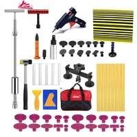 paintless dent repair kit car dent removal kit dent puller kit pop a dent tool for auto dent door ding hail dent remover