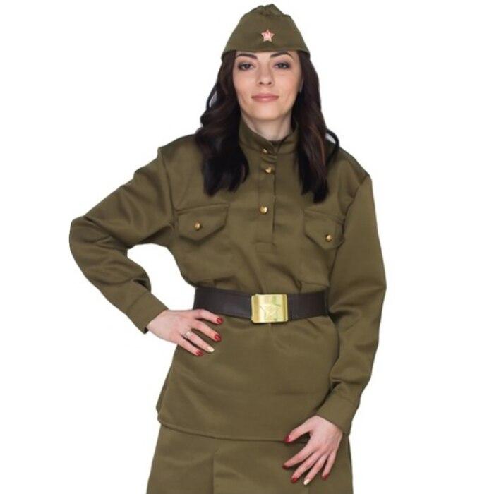 Гимнастёрка военная женская, люкс