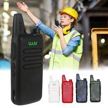 KD-C1 Draagbare Ultra-Dunne Usb Charge Handheld Twee-Weg Radio Draadloze Intercominstallatie Clear Sound Ruisonderdrukking Interphone