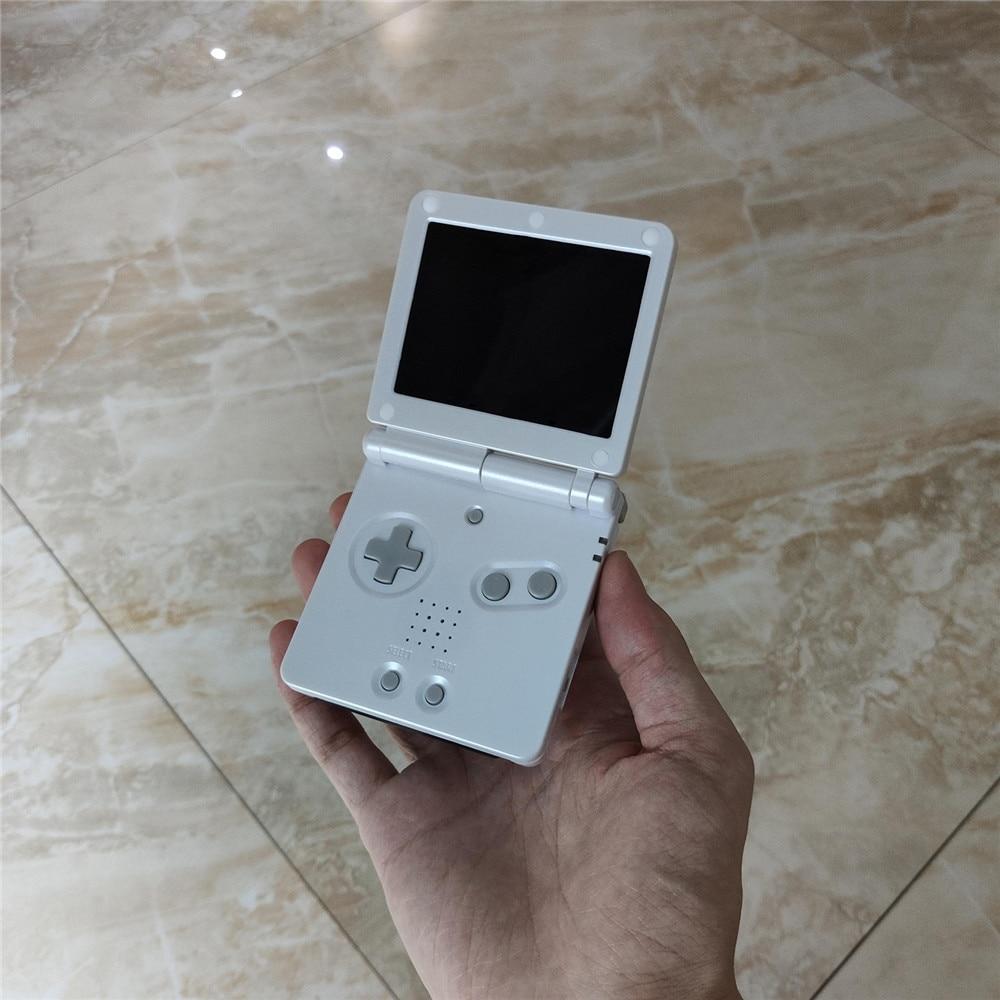 Tela de destaque de substituição para nintend gba sp jogo console ips tela lcd para gba sp consoles peças reparo